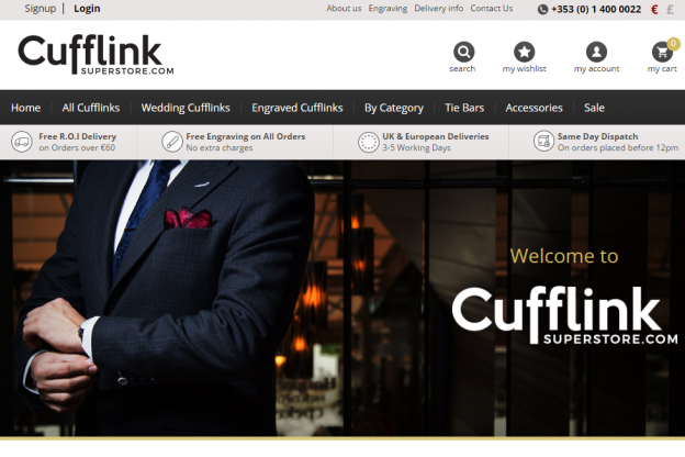 New Website - cufflinksuperstore.com