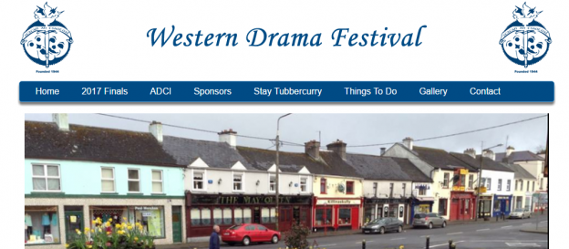 Western Drama Festival New Website