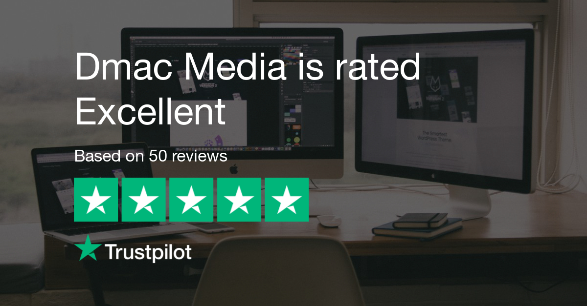 Dmac Media is Rated Excellent
