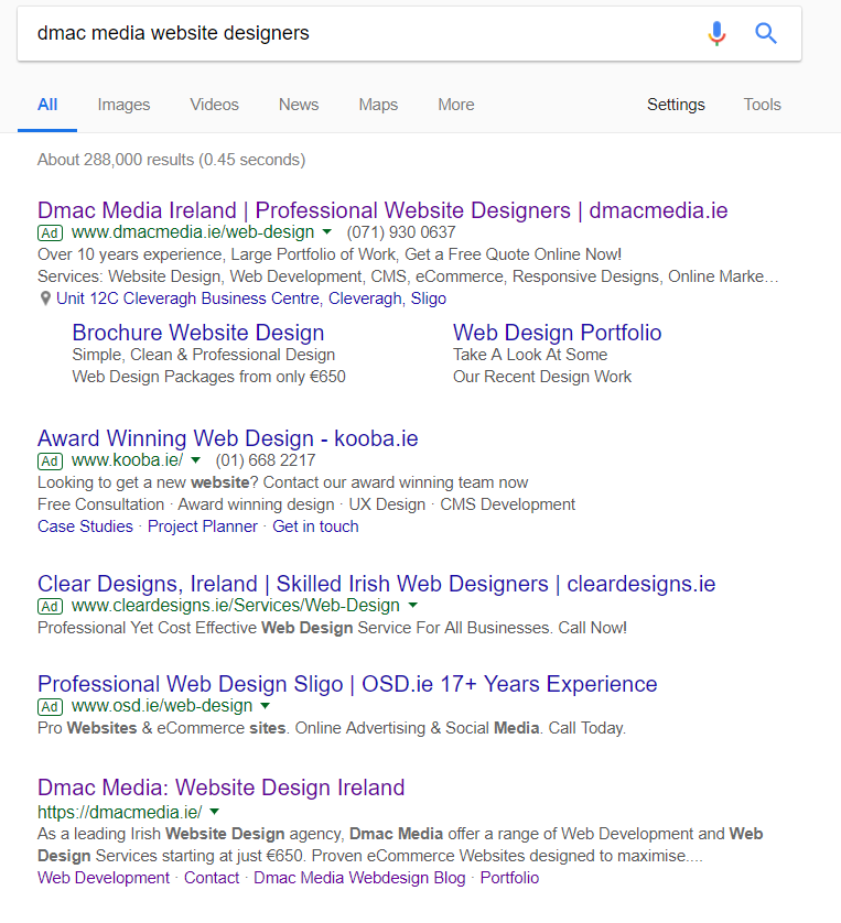 Branded Search Advertising in Adwords