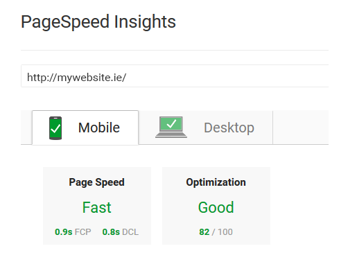 good-page-speed