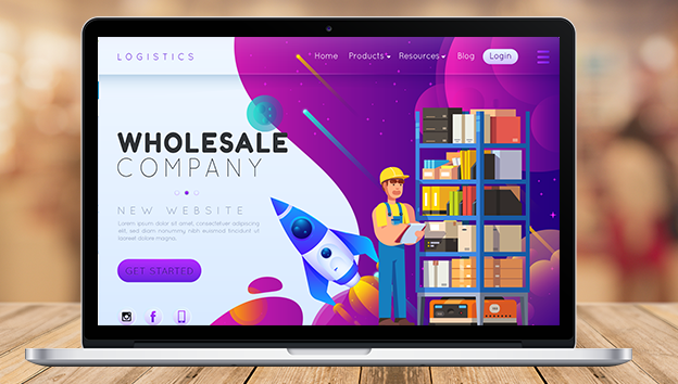How Wholesalers get on line
