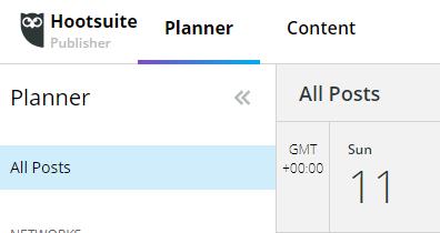 Hootsuite Planner