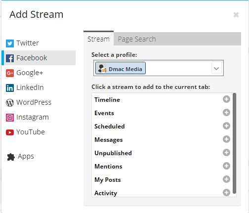 Hootsuite Streams