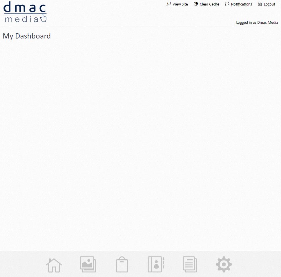Dmac Media Admin Dashboard