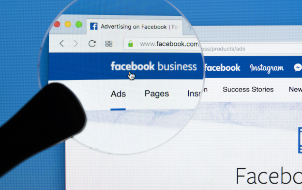 Facebook Advertisign Under a Magnifying Glass