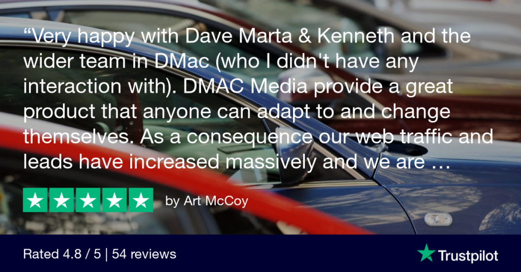 Art McCoy of McCoy Motors shares his experience of Dmac Media.